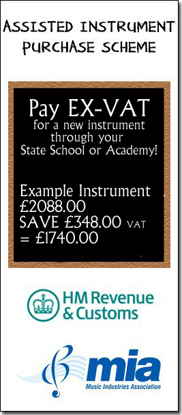Financing a new instrument with Assisted Instruent Purchase Scheme